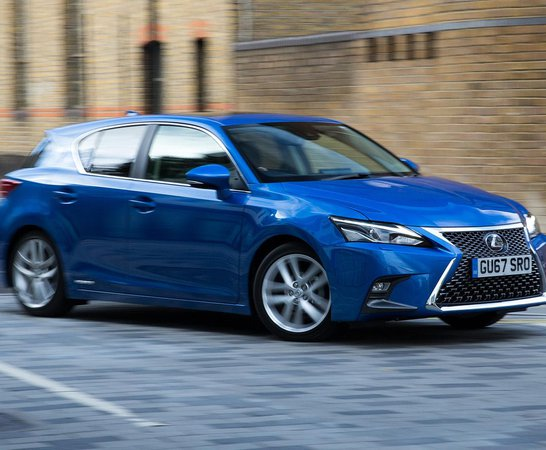 Lexus CT. Review Continues Below.