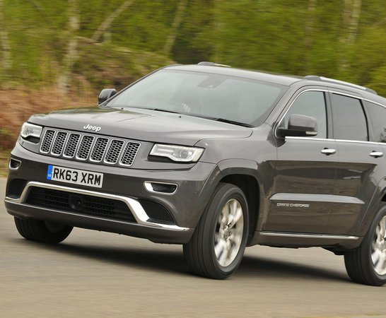 Marvelous Jeep Grand Cherokee. Review Continues Below.