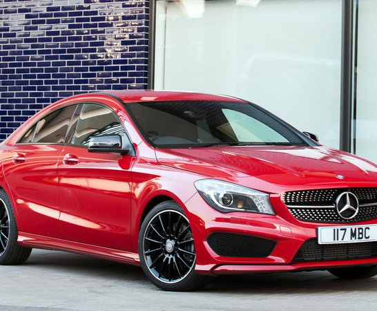 Mercedes Benz CLA. Review Continues Below.