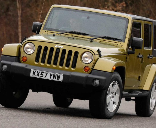 Jeep Wrangler 4x4 (97   07). Review Continues Below.