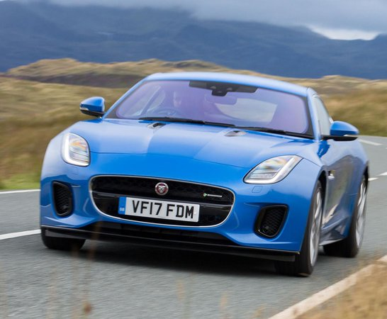 Jaguar F Type Coupe. Review Continues Below.