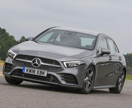2018 Mercedes A Class Front Cornering