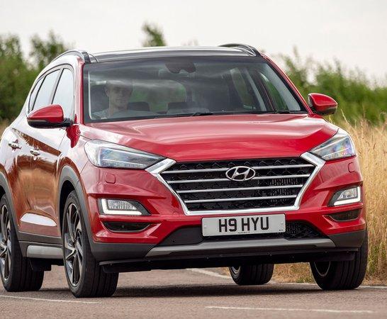 Hyundai Tucson Main. Review Continues Below.