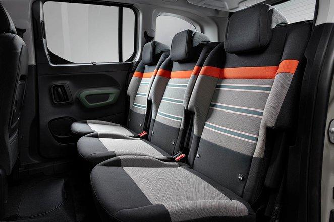 Citroën Berlingo 2021 interior rear seats