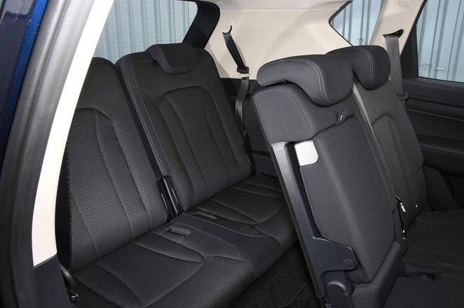 Ssangyong Rexton 2021 interior rear seats