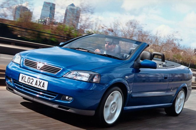 Vauxhall Astra Convertible (01 - 05)