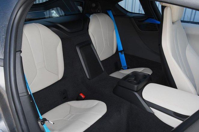 BMW i8 back seats