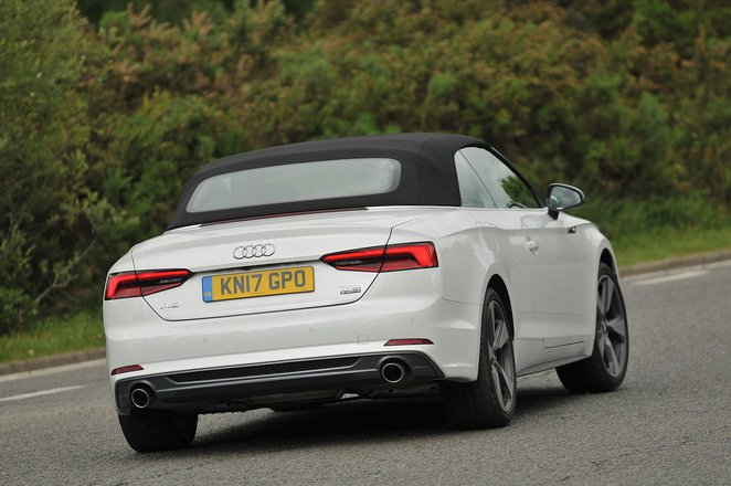 Used Audi A5 Cabriolet 17-present