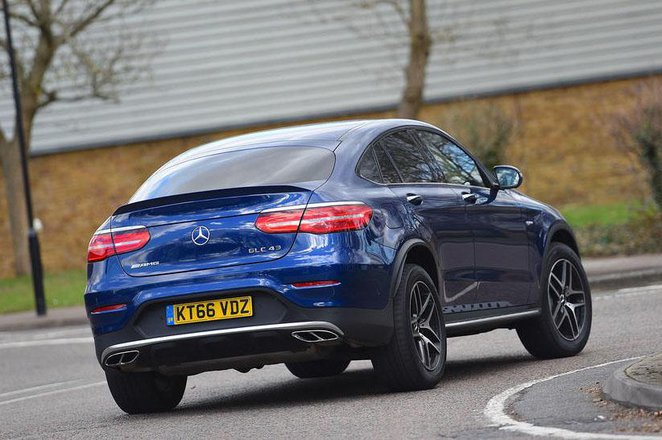 Used Mercedes-Benz GLC Coupe 16-present