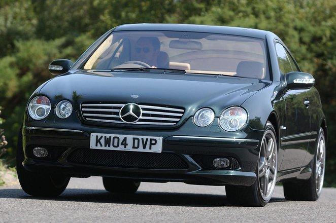 Mercedes-Benz CL Coupe (00 - 07)
