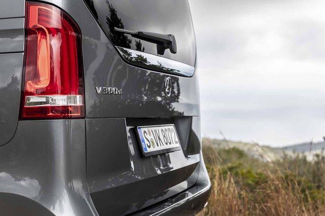 Mercedes-Benz V-Class 2019 rear