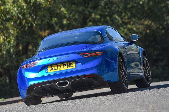 Alpine A110 rear