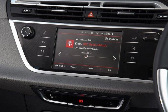 Citroën Grand C4 Spacetourer infotainment