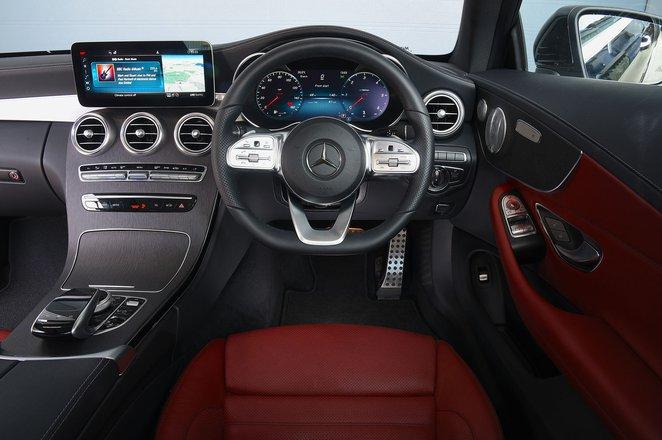Mercedes C-Class Coupé interior