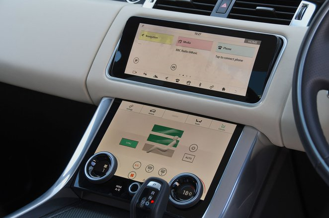 Land Rover Range Rover Sport 2021 interior infotainment