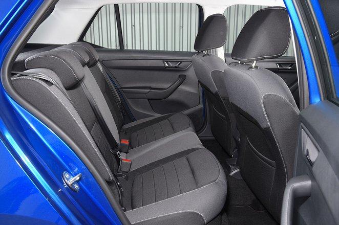 Skoda Fabia rear seats