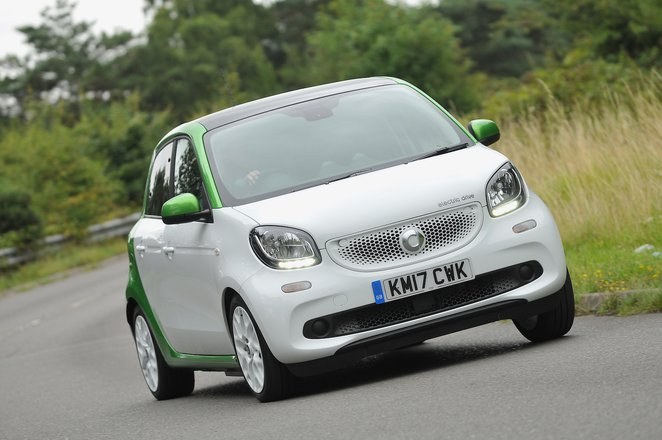 Used Smart ForFour EQ 2017-present
