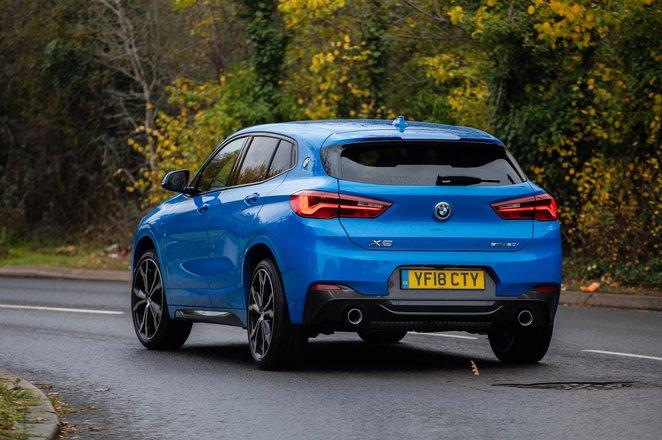 2018 BMW X2 20i rear