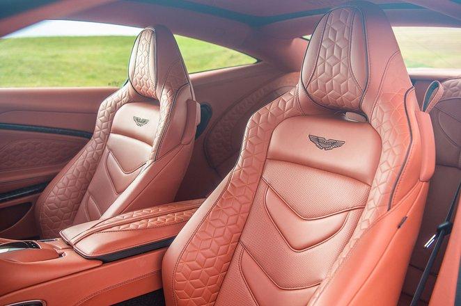 Aston Martin DBS Superleggera front seats