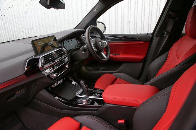 BMW X3 2021 M40i Interior