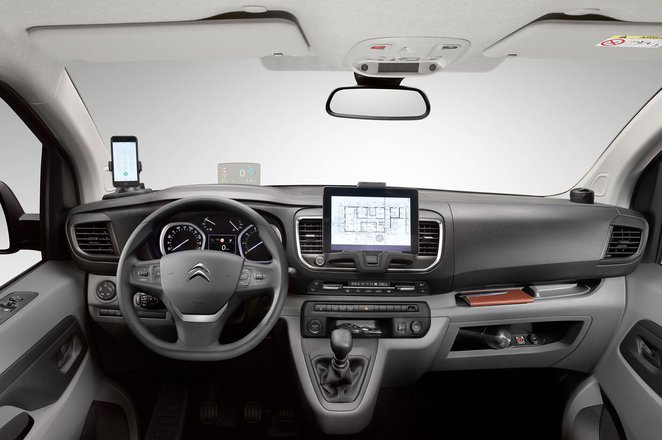 Citroen Dispatch 2021 interior dashboard