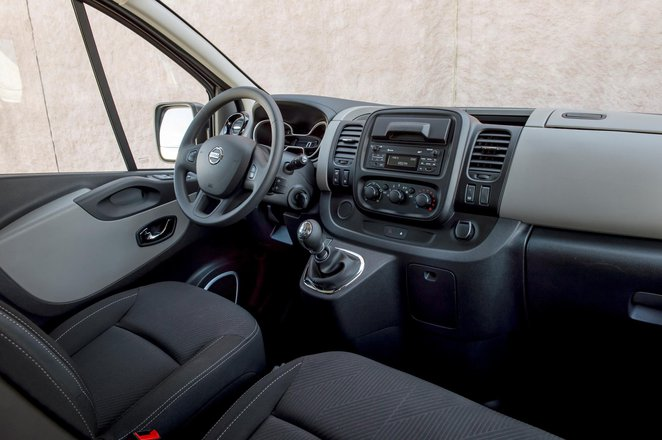 Nissan NV300 van interior