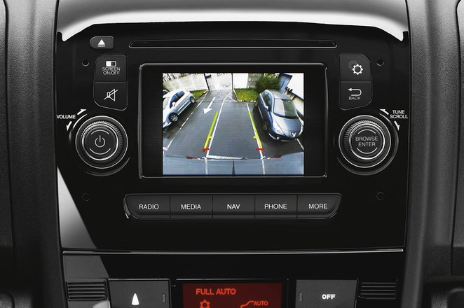 Peugeot Boxer infotainment system
