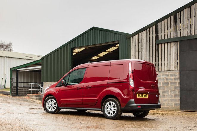 Ford Transit Connect rear