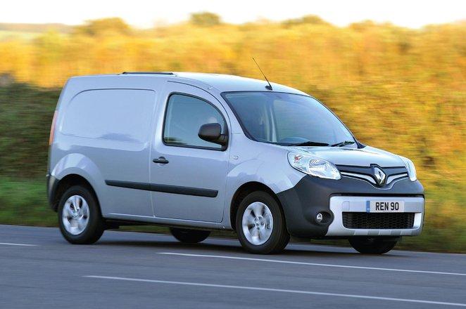 Renault Kangoo van action