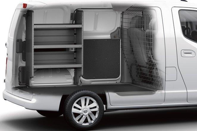 Nissan NV200 interior layout