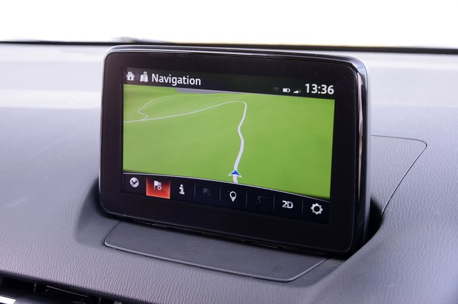 Mazda 2 2018 infotainment screen