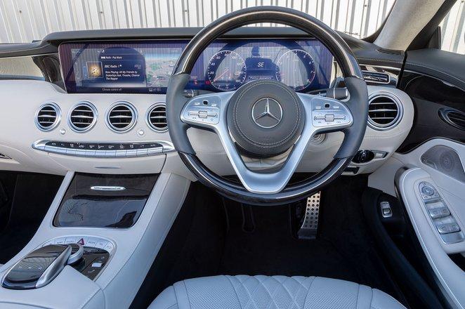 Mercedes-Benz S Class Cabriolet 2019 dashboard