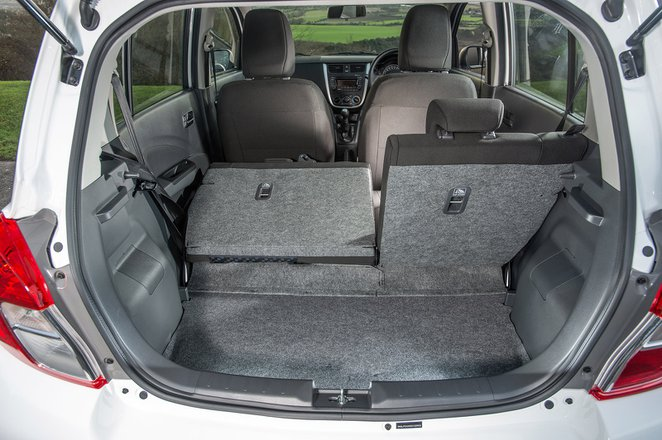 Suzuki Celerio 2019 boot interior