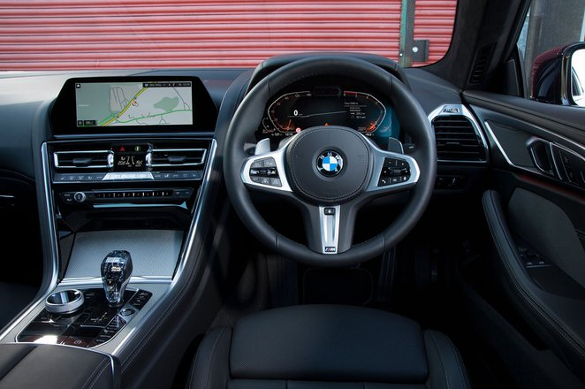 BMW 8 Series 2019 RHD dashboard