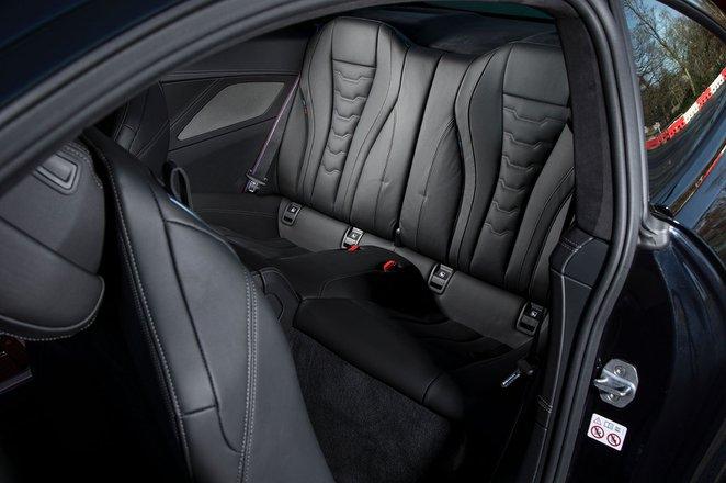 BMW 8 Series 2019 rear seats