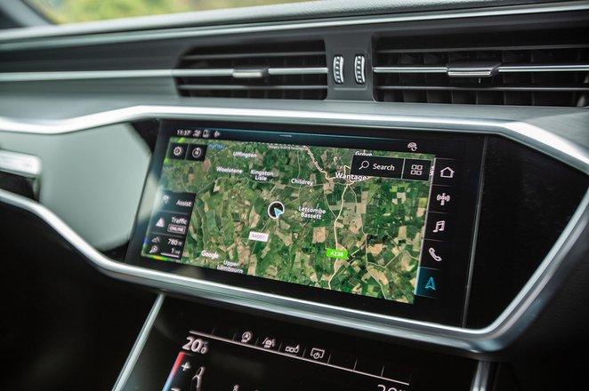 Audi A6 Avant 2019 infotainment