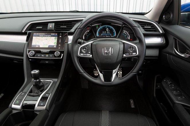 Honda Civic Saloon 2019 RHD dashboard