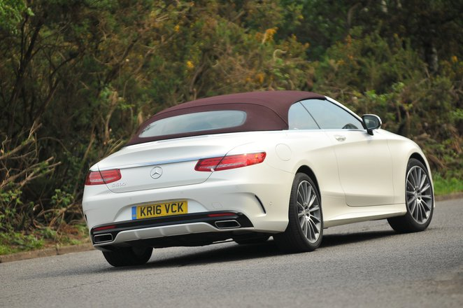 Used Mercedes-Benz S-Class Cabriolet