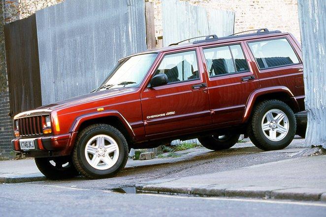 Used Jeep Cherokee 4x4 1993 - 2001