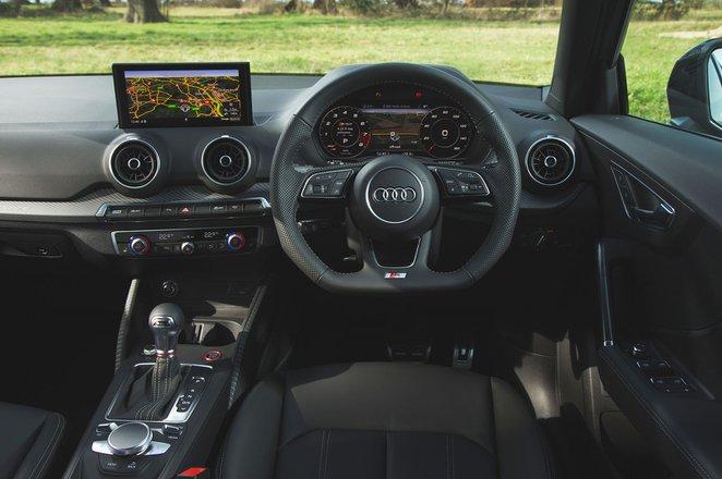 Audi SQ2 2019 RHD dashboard