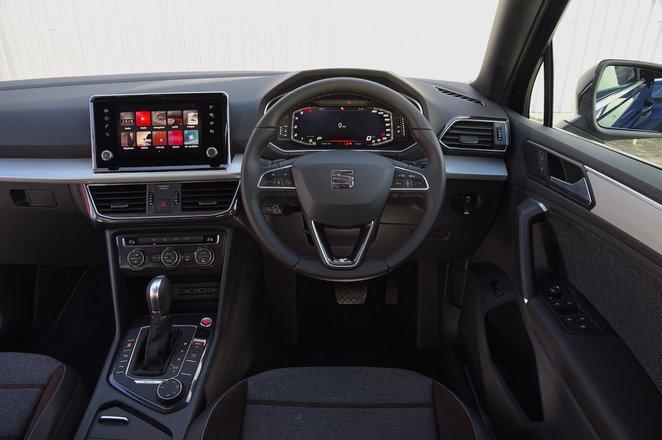 Seat Tarraco 2021 RHD dashboard