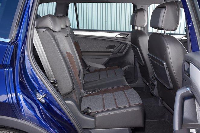 Seat Tarraco 2021 rear seats