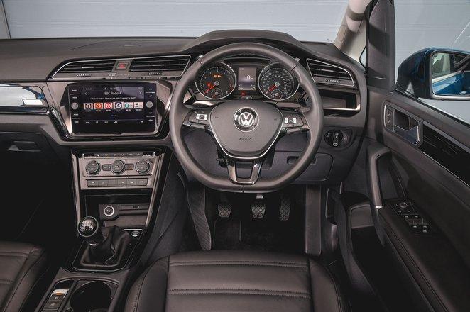 Volkswagen Touran 2021 RHD dashboard