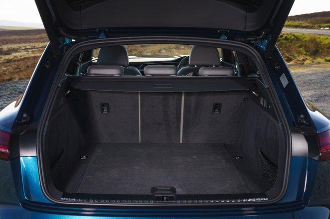 Audi E-tron 2019 UK boot interior