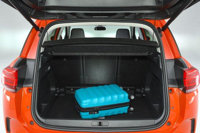 Citroen C5 Aircross boot