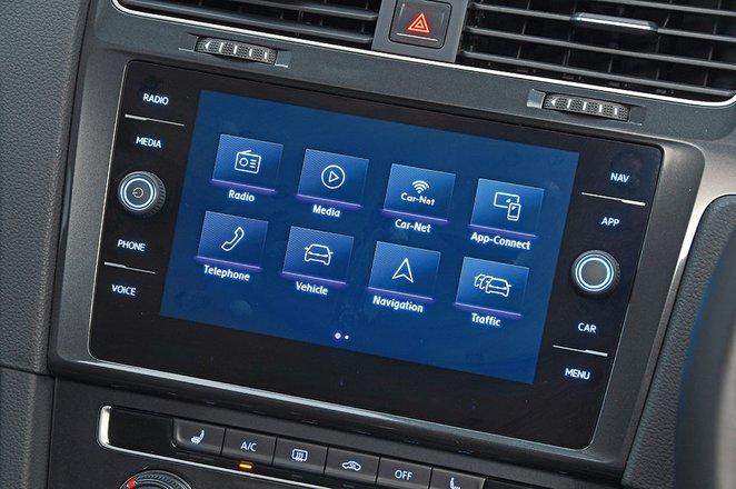 Volkswagen Golf infotainment