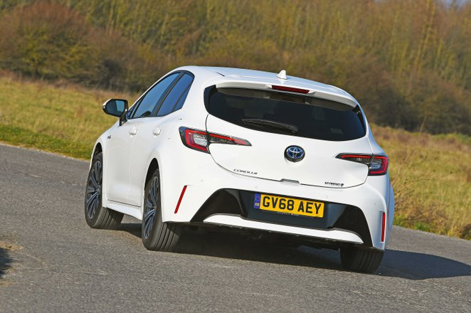 Toyota Corolla rear