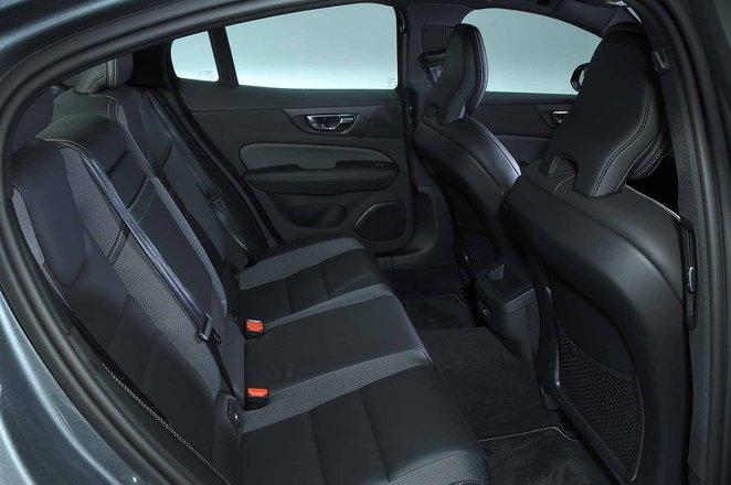 Volvo S60 2019 RHD rear seats