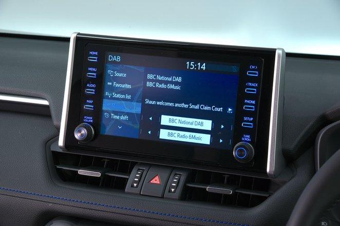 Toyota RAV4 infotainment