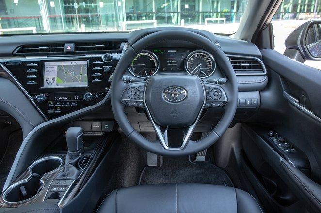 2019 Toyota Camry dashboard